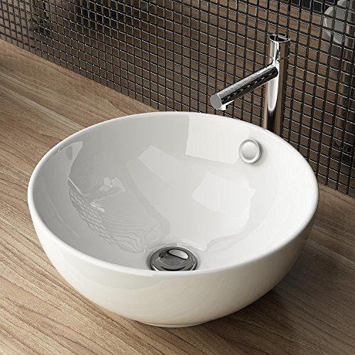 Design Keramik Aufsatzwaschbecken Waschtisch Waschschale Waschplatz Fur Badezimmer Gaste Wc A87 Waschbecken24 Http Ww Aufsatzwaschbecken Waschschale Gaste Wc