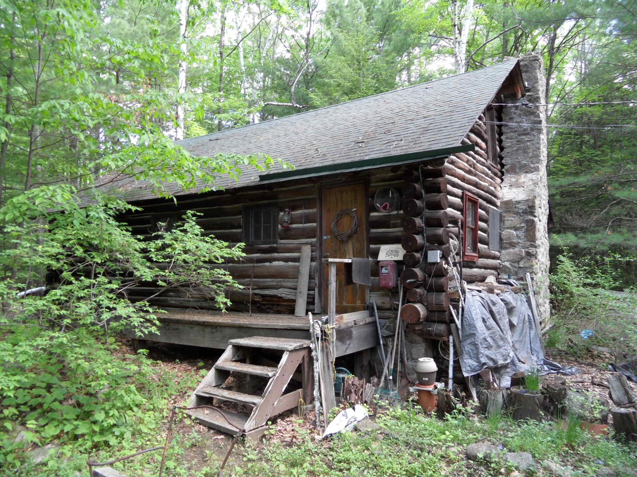 Adirondack Cabin On At 79k Just Sold Log Cabins For Sale Cabin Log Cabin