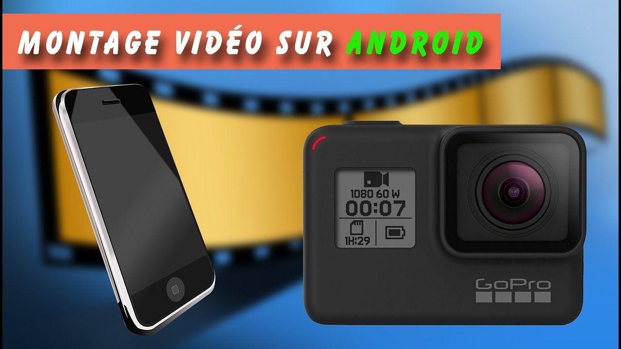 L'application de montage vidéo de GoPro avec un smartphone