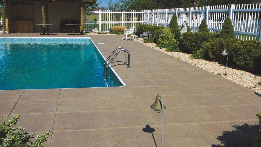 Quartz Slip Resistant Floor Concrete Resurfacing