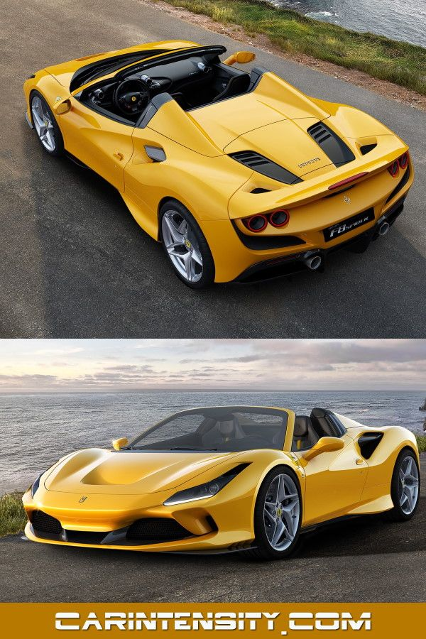 The 2020 Ferrari F8 Spider Ferrari Supercars Super Cars Ferrari Performance Cars