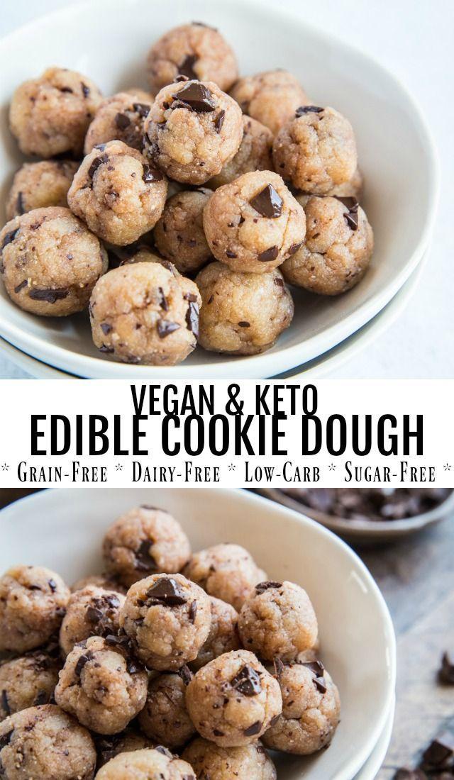 Keto Edible Cookie Dough