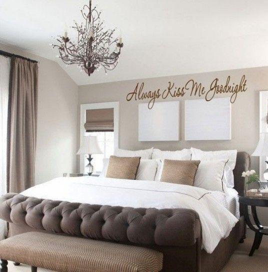 Idee per decorare la camera da letto - Scritte decorative | Cameras