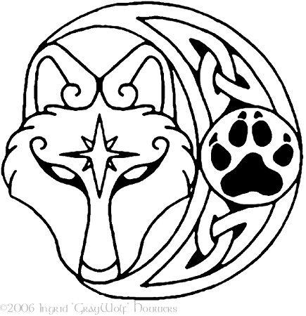Silivrenwolf pendant design by Illahie