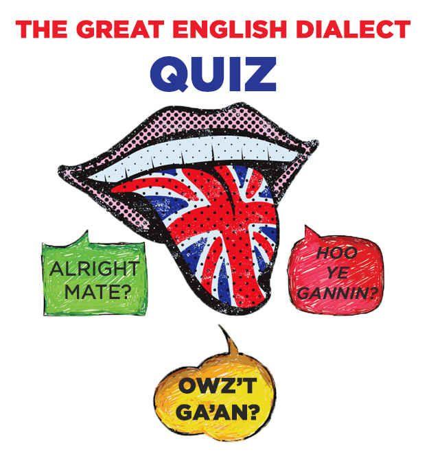 The Great English Dialect Quiz | Funnies | Grammar quiz