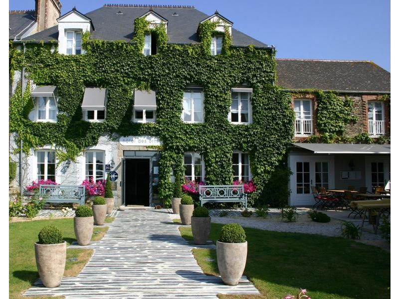 Hotel Des Ormes Barneville Carteret Nearby Mont Saint Michel Beautiful