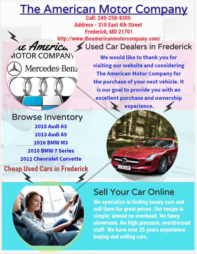 The American Motor Company is the best Place to find best used car ...