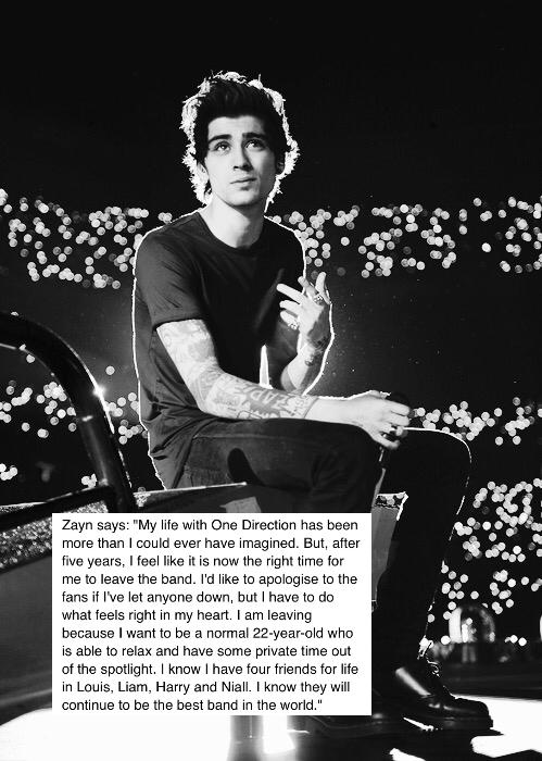 We love you Zayn <3