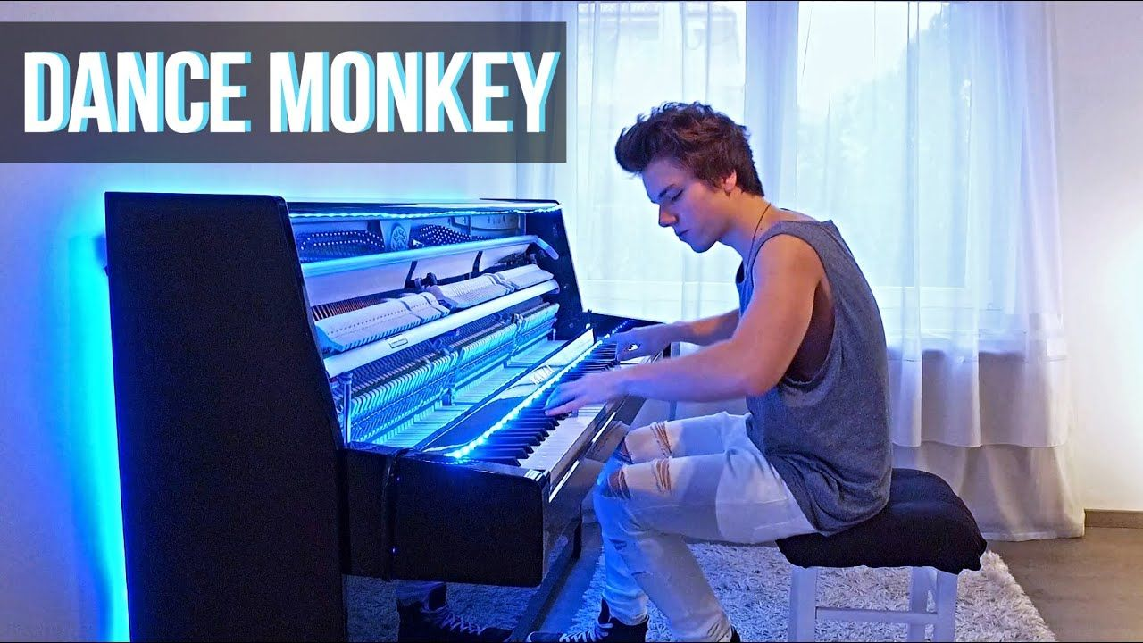 Tones And I Dance Monkey Piano Cover By Peter Buka In 2020