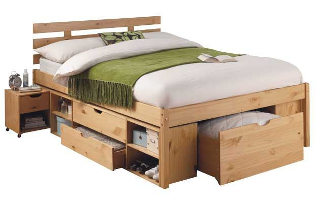 Storage Around Bed Stands This Style Of Bed Is