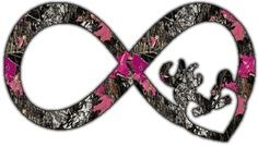 Camo infinity sign