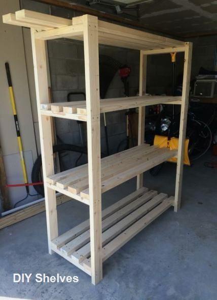 DIY Shelves Storage Ideas