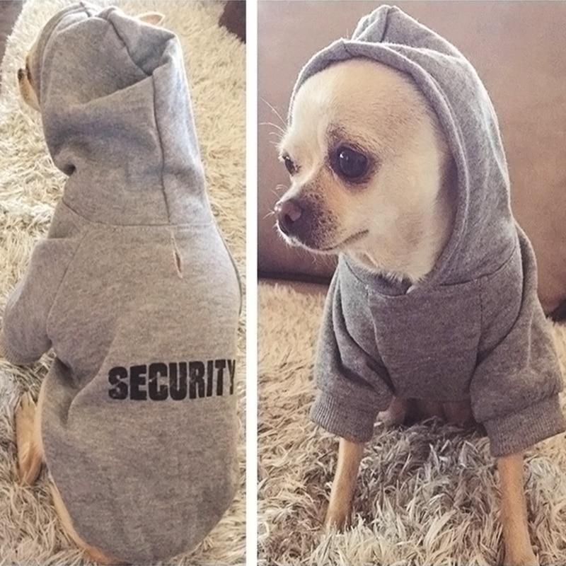 Classic Security Dog Clothes Cute Dog Clothes Dog Jacket Puppy