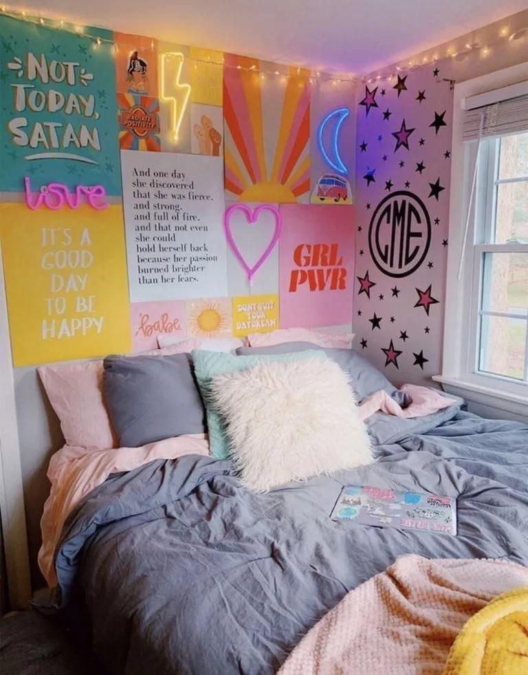 48 Pinterest Worthy Dorm Room Ideas 48 Pinterest Worthy Dorm Room Ideas Inspiredesign Dormroom Dormroomd In 2020 Elegant Dorm Room Dorm Room Decor Cute Dorm Rooms