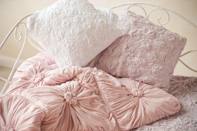 blush pink   shabbychic little princess bedroom   Bedding ...