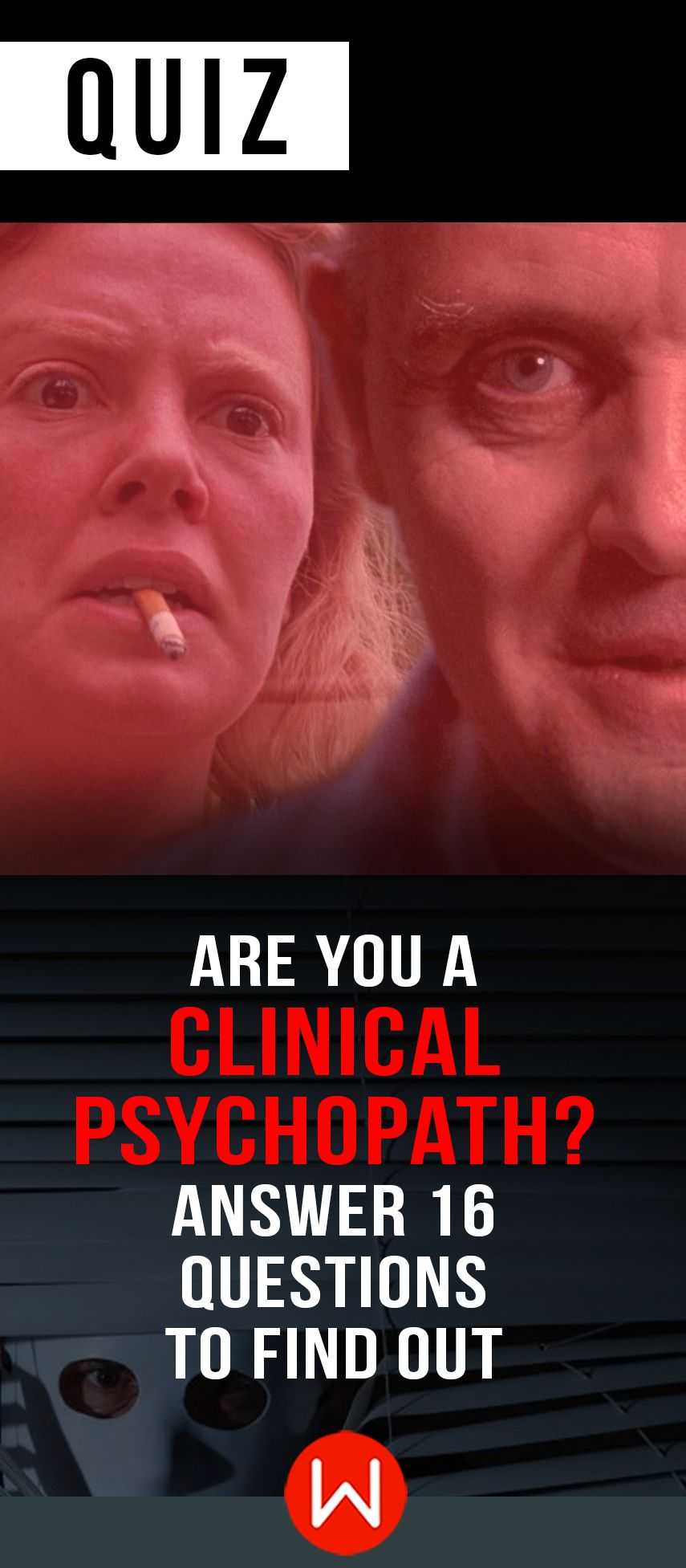 Psychopath Test Questions >> Quiz Are You A Clinical Psychopath Answer 16 Questions To Find Out