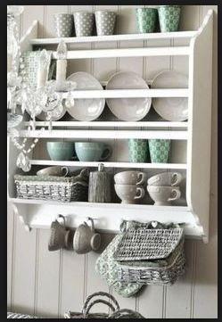 Gamleby Wall Shelf Ikea Plates On Wall Plate Shelves Shabby Chic Kitchen