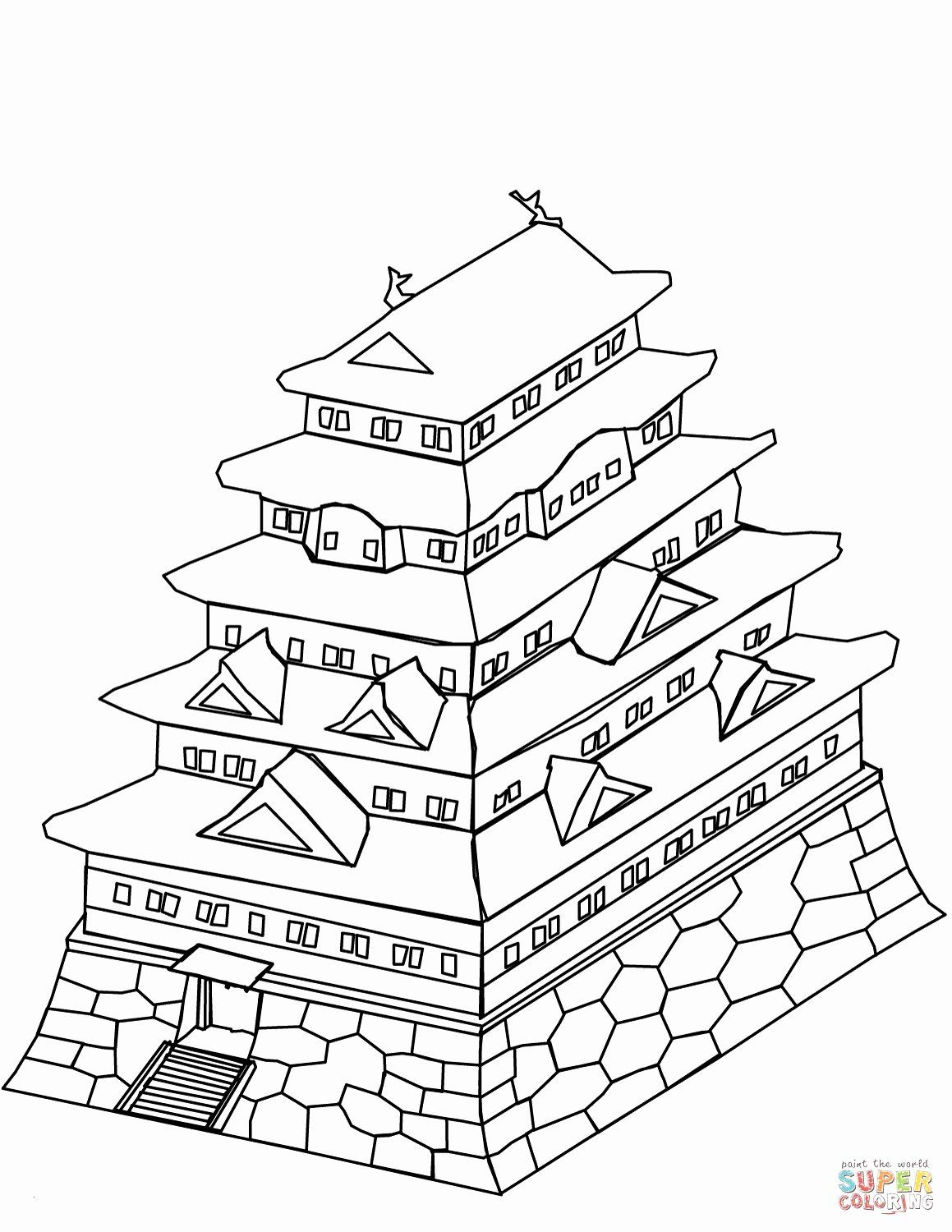 Free Coloring Pages About Japan For Kids Japan For Kids