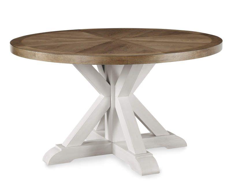 Broyhill Castillo Dining Table Big Lots In 2021 Farmhouse Round Dining Table Dining Table Dining Table Decor