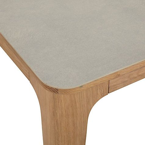 Ebbe Gehl For John Lewis Mira Ceramic Top Oak Dining Table