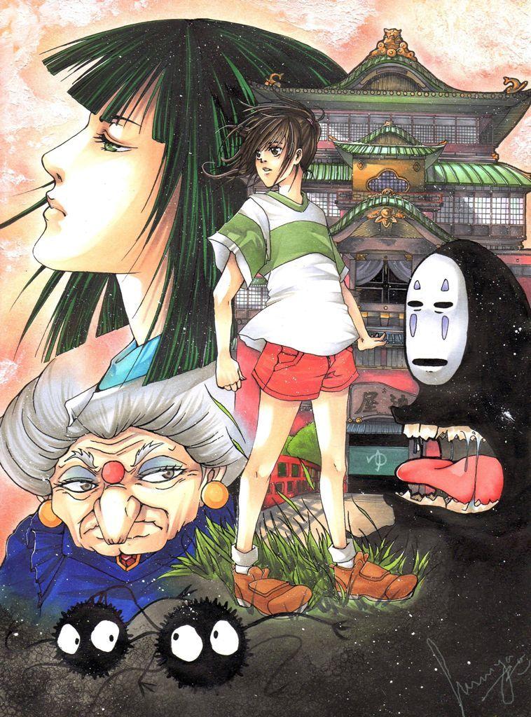 Spirited Away Studio ghibli, Ghibli, Animation film