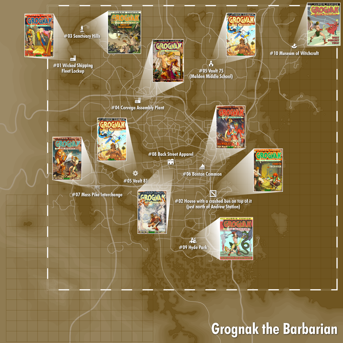 Grognaks Locations Map I Have Found Very Useful Ty To Whomever Did These Fallout4 Gaming Fallout 4 Locations Fallout 4 Settlement Ideas Fallout 4 Magazines
