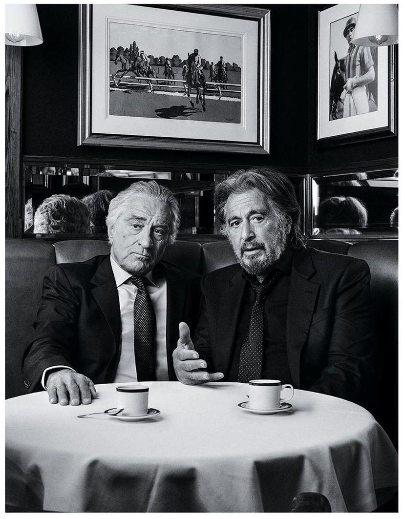 Corner Booth Conversations Lmx Robert De Niro Al Pacino
