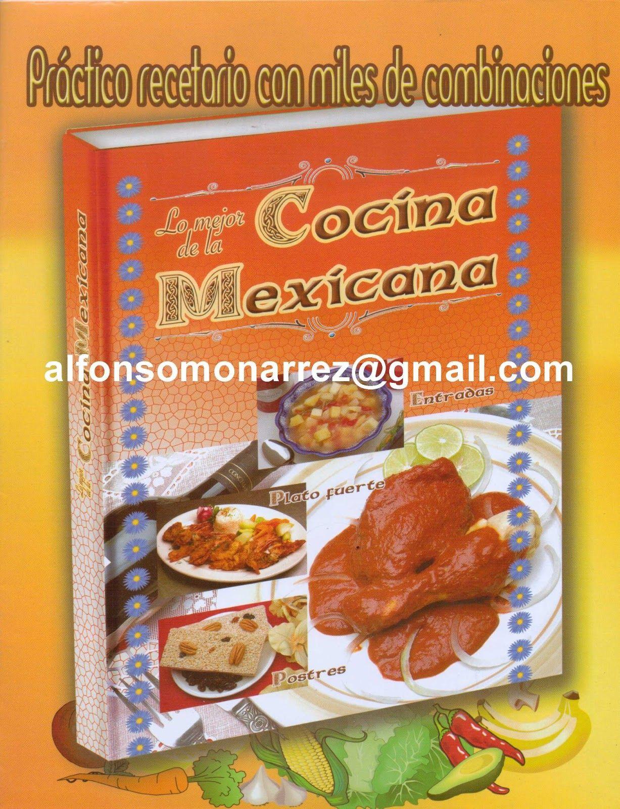 Recetas con ingredientes mexicanos