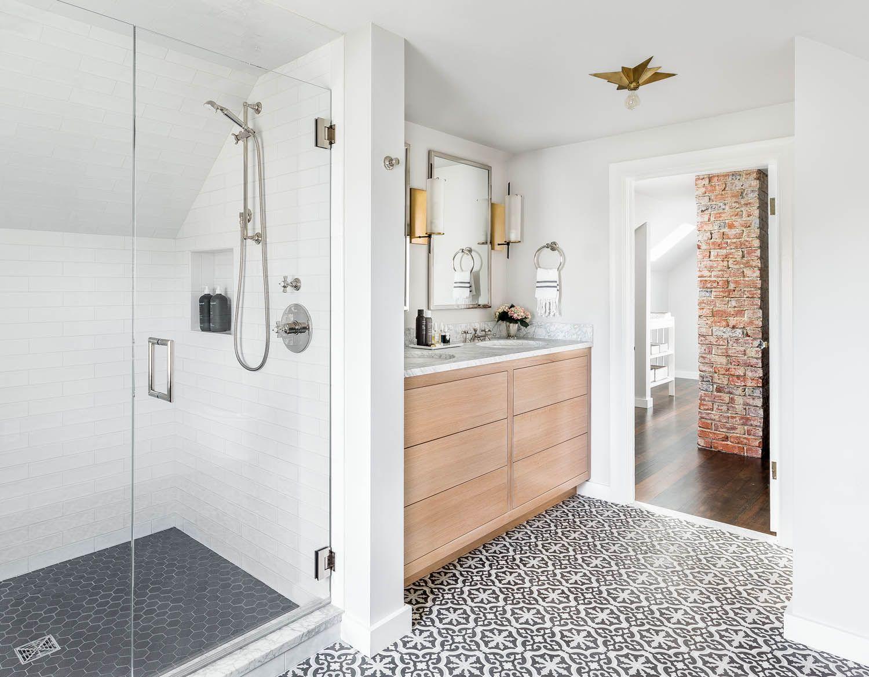 A Master Bedroom Attic Suite In Seattle  Rue  Master Bath Amusing Bathroom Design Seattle Inspiration