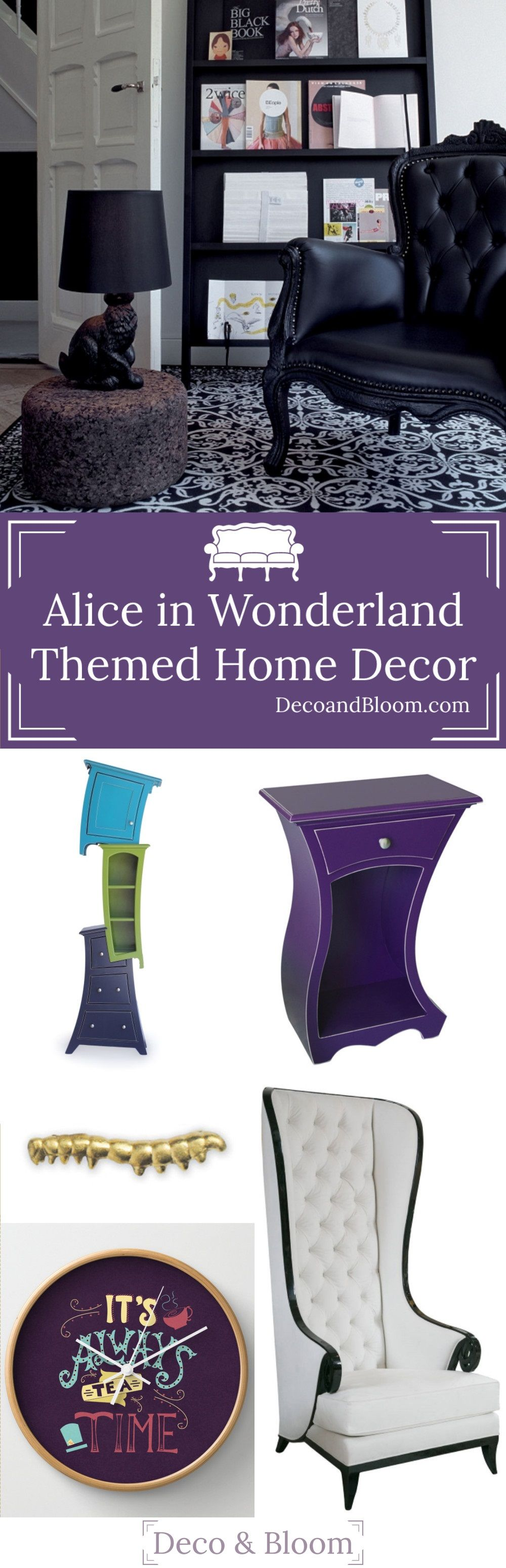 Alice In Wonderland Home Decor   Deco U0026 Bloom