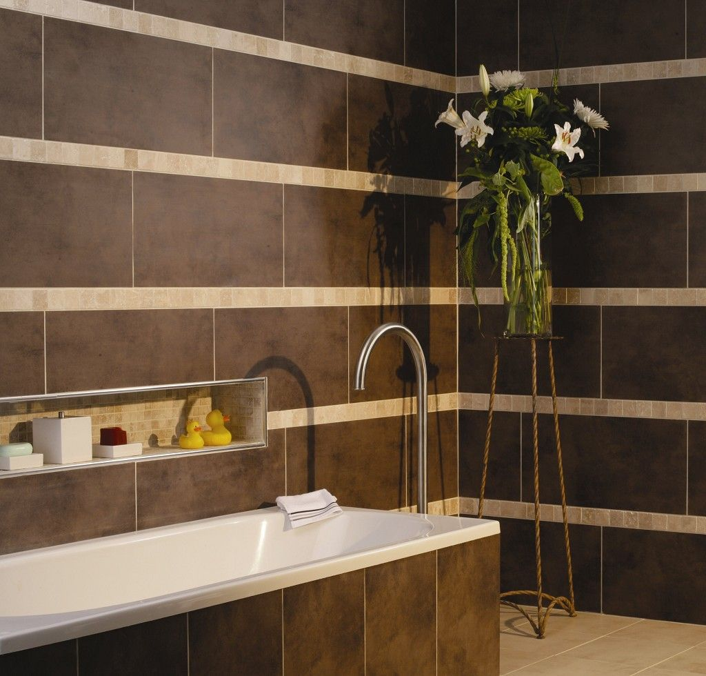 Fantastic Brown Tile Bathroom  GardenWeb  Fierce And Fabulous Design