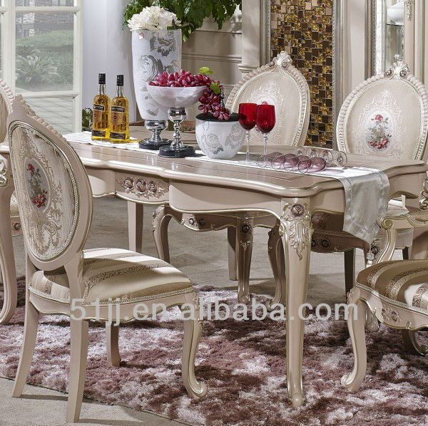 Victorian Style Dining Room Furniture French Antique Style White