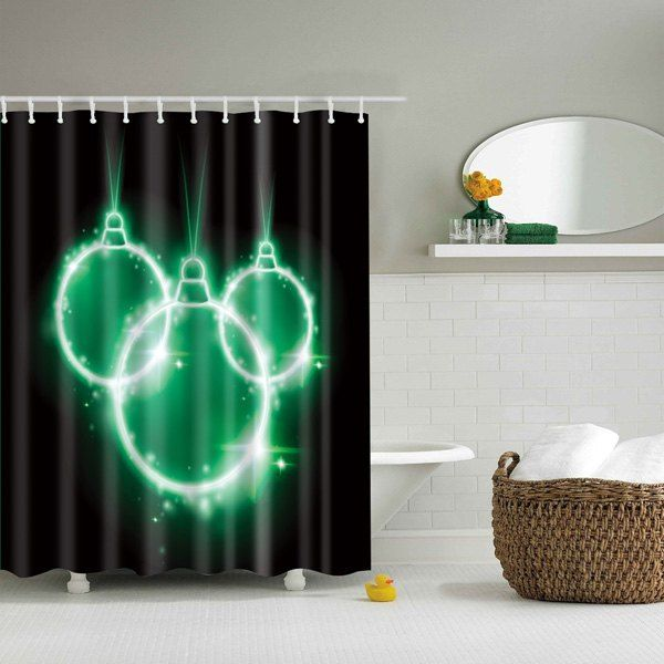 Waterproof Polyester Shower Curtain Bathroom Decor With Images