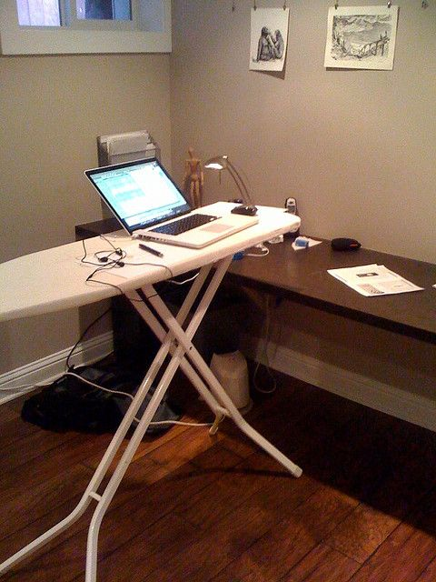Today\u0027s desk Desks, Decorating office spaces and Decorating office
