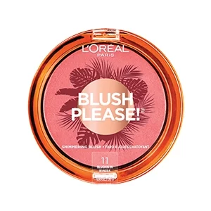Summer Belle Blush Please Shimmering Blush Blush Beauty Products Drugstore Loreal Paris