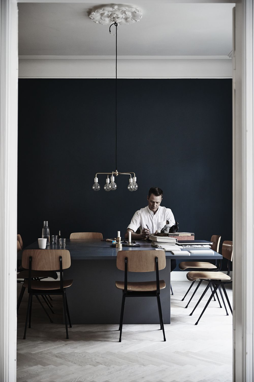On craque pour le bleu marine ou navy blue en déco | SALON | Dining ...