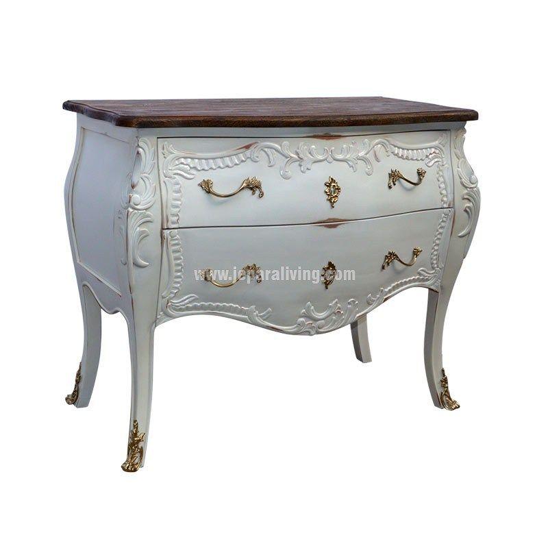 Risultati immagini per shabby chic french commode indonesia furniture