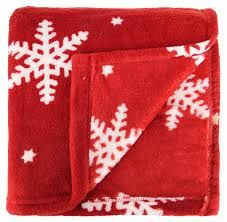 image result for christmas throw blanket