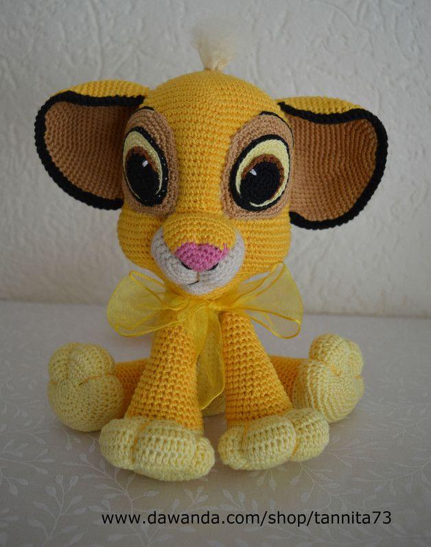 Baby Löwe Simba Amigurumi Häkelanleitung Made By Tannita73 Via