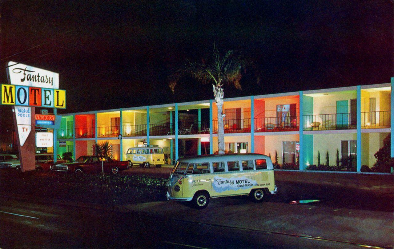 1960s Fantasy Motel Anaheim California Time Machine