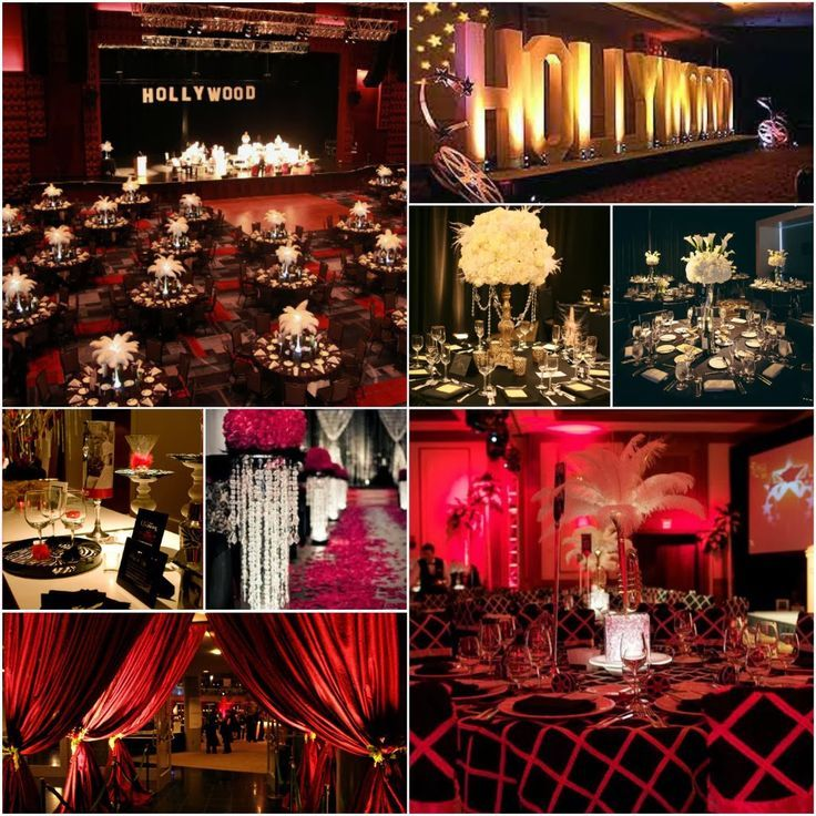 Diary Of A Jones Ideas Old Hollywood Glam Partyhollywood Themed Partiesred