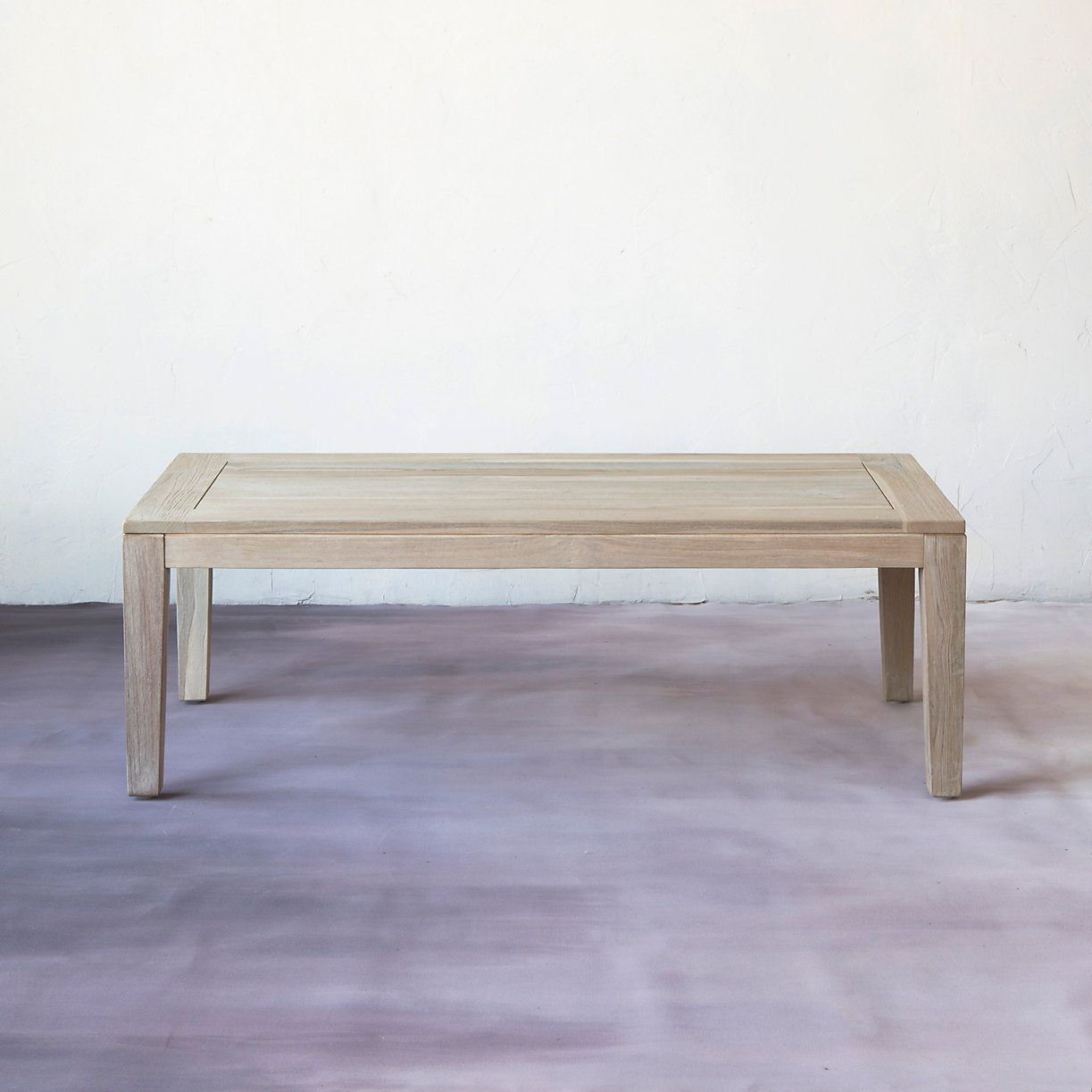 Slatted teak coffee table entertaining outdoor living and teak slatted teak coffee table geotapseo Choice Image