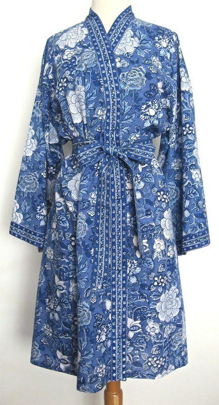 b00c10558d Beautiful Anokhi dressing gown. Beautiful Anokhi dressing gown Cotton Kimono  ...