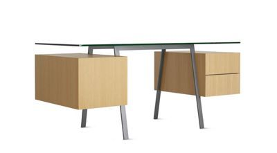 Homework Desk Double Drawer From Design Within Reach