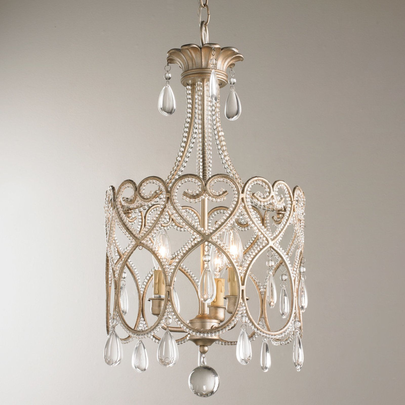 Joli Scrolls Mini Chandelier