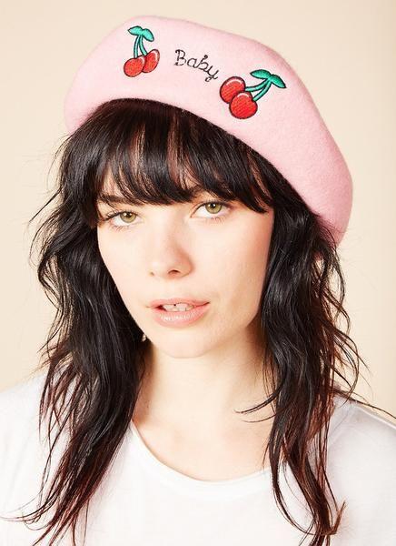 e46ac605f Baby Beret (Pink) | Beret Outfits | Beret outfit, Beret, Hair beret