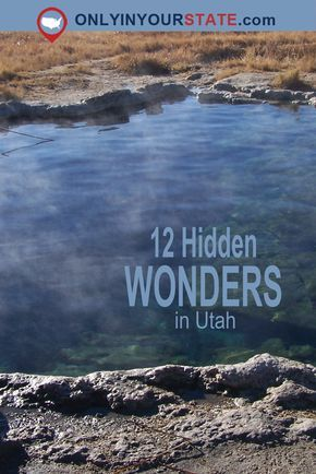 Travel | Utah | USA | Hidden Wonders | Natural Wonders | Nature | The Outdoors | Exploring | Amazing Places | Beautiful Places | Beautiful Utah #utahusa