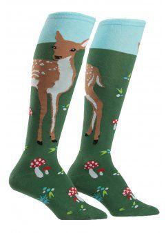 Fawn Memories Knee High Socks