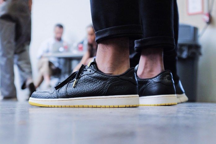 new product c91c0 66801 A First Look at the PSNY x Air Jordan 1 Low