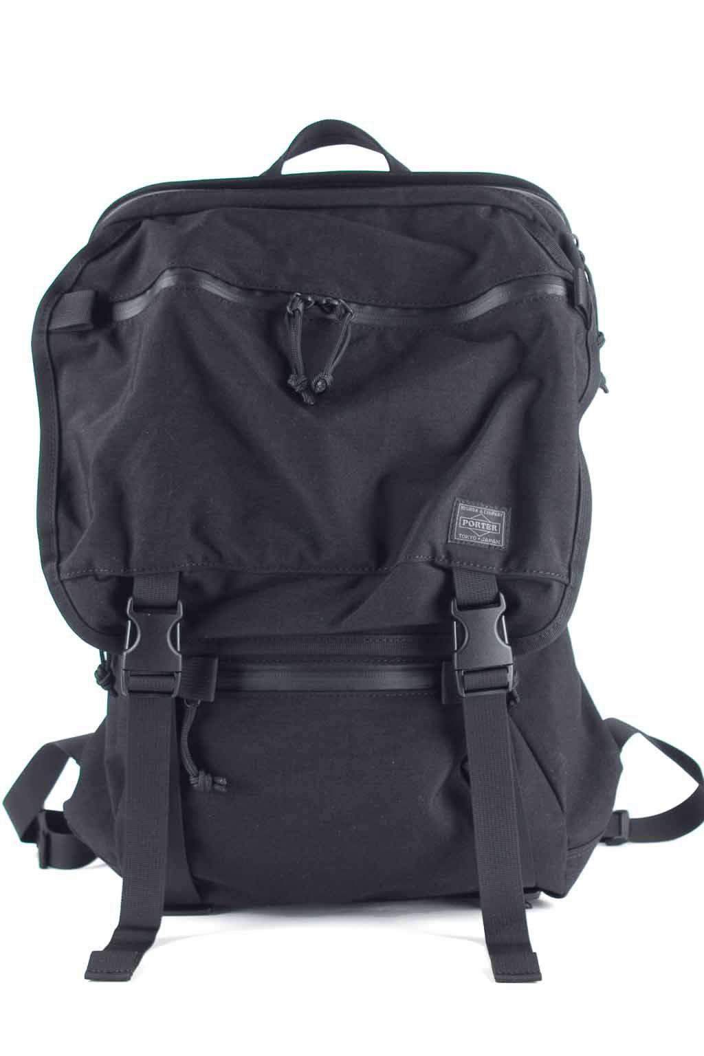 Porter Yoshida Porter - Klunkerz Daypack-Black  d813d6e510fd9